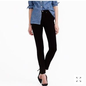J.Crew look out high rise jeans in black skinny